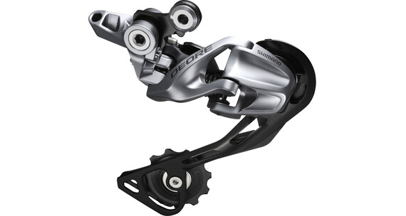 Shimano Deore RD-M610 - Dyna Sys Shadow argent